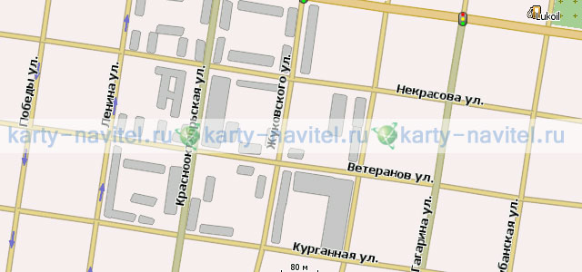 карта майкопа с улицами
