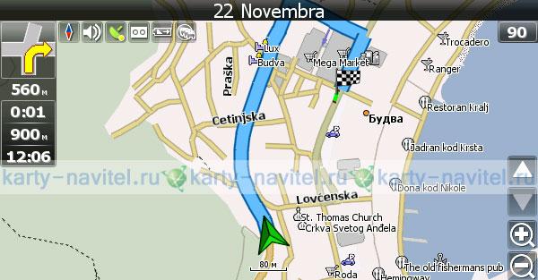 скачать карту черногории для навител - фото 2