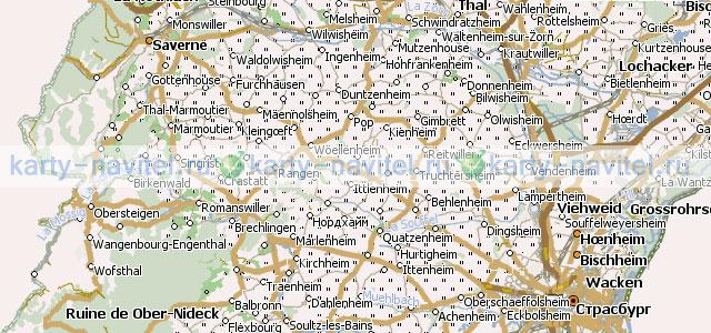 На фото фрагмент карты франции на