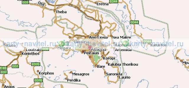 карта греции навител скачать