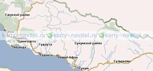 Скачать Карта Грузии Для Навител - фото 6