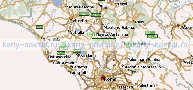 карта италии для навител скачать бесплатно