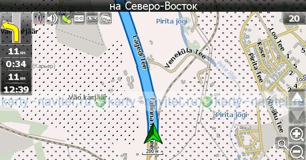 Как сделана карта навител