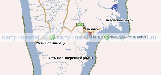 Подробная GPS карта города