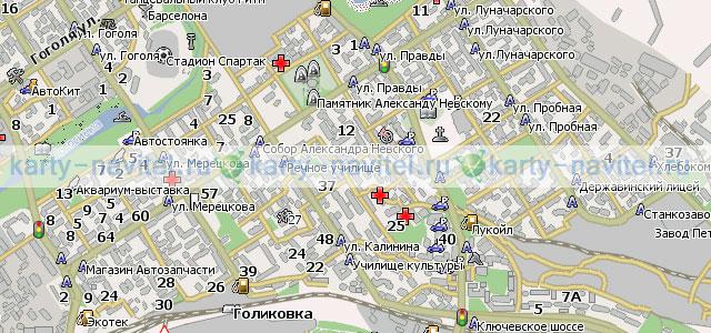 Карта петрозаводска для навител