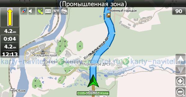 Gps Карта Мурманской Области