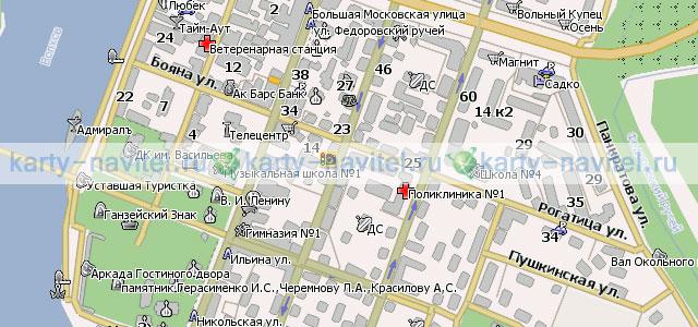 Великий Новгород - карта