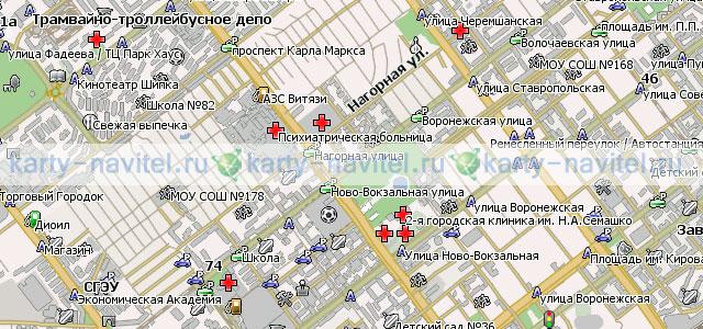 карта города самары показать