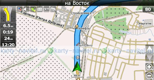 Карта Кировской Области Nm3