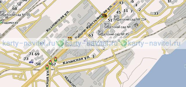 Волгоград - карта для Навител