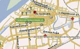 небольшая карта Астрахани Навител