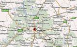 мини карта Ивановской области