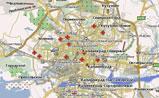 мини карта Калининграда