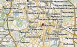 Москва, мини карта