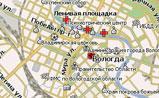 мини карта Вологды