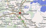 мини карта Вологодской области