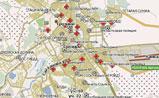 мини карта Грозного