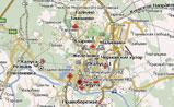 небольшая карта Калуги