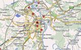 Небольшая карта Кирова