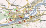 мини карта Красноярска для Навител