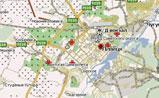 мини карта Липецка