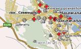 мини карта Махачкала