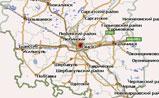 мини карта Омской области