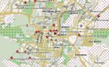 мини карта Саранска