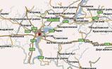 мини карта Саратовской области