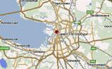 мини карта Питера