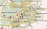 мини карта Ставрополя