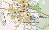 мини карта Тамбова