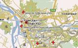 мини карте города Улан-Удэ
