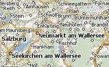 маленькая карта Австрии