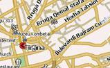мини карта Тираны