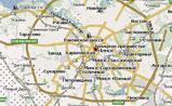 небольшая карта Минска