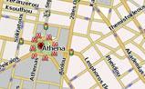 мини карта Афин