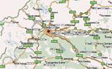 небольшая карта Болгарии