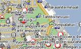 мини карта Хельсинки