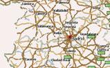 мини карта Испании