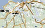 мини карта Эстонии
