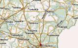 мини карта Литвы