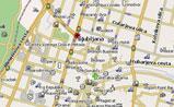 мини карта Любляны