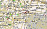 мини карта Мадрида