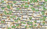 мини карта Польши