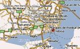 мини карта Португалии