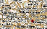 мини карта Великобритании
