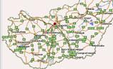 мини карта Венгрии