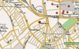 небольшая карта Анкары