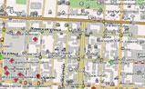 небольшая карта Бишкека